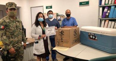 Recibe el IMSS QRoo las primeras vacunas contra COVID-19