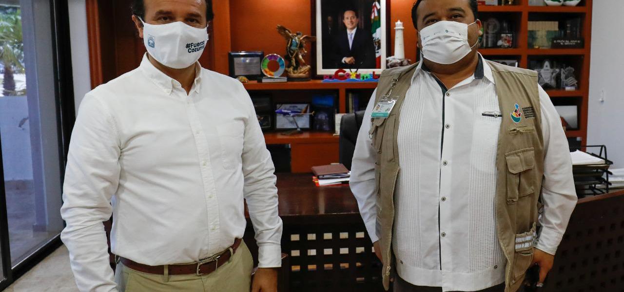 Trabajo coordinado con la CDHEQROO para fortalecer el respeto a los derechos humanos de la comunidad: Pedro Joaquín