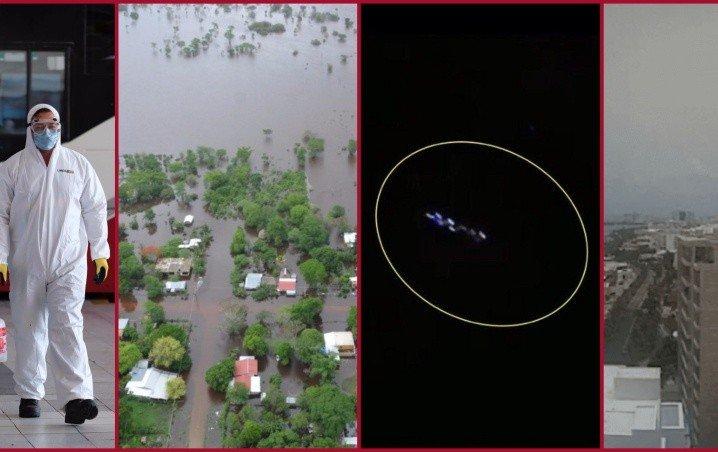 Cancún; COVID-19, Ovnis, tormenta tropical, polvo del Sahara y, ¿ahora que falta?