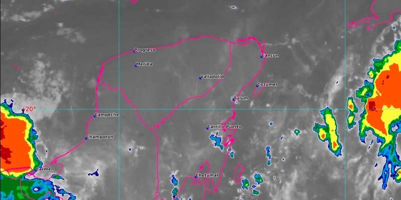 El clima para Quintana Roo