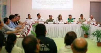 La Presidente Municipal Mara Lezama participó en el Informe Técnico Operativo para el Diagnóstico y Evaluación Inicial por el Coronavirus