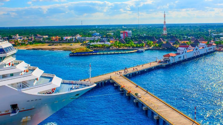Al alza, arribo de cruceristas a puertos de Quintana Roo