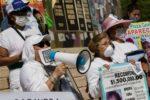 """""""Ya estamos muertas"""": marchan madres de desaparecidos"""