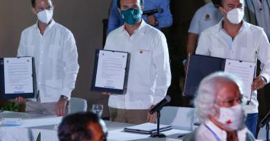 Se suma el presidente municipal de Cozumel, Pedro Joaquín, al Pacto de Reactivación Económica Responsable de Quintana Roo
