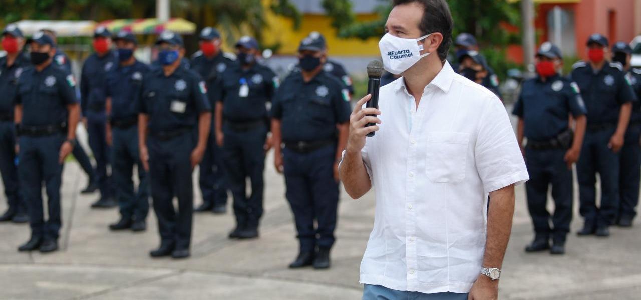 Exhorta Pedro Joaquín a la Policía de Cozumel a actuar bajo los estatutos de Ley y con respeto a los derechos humanos