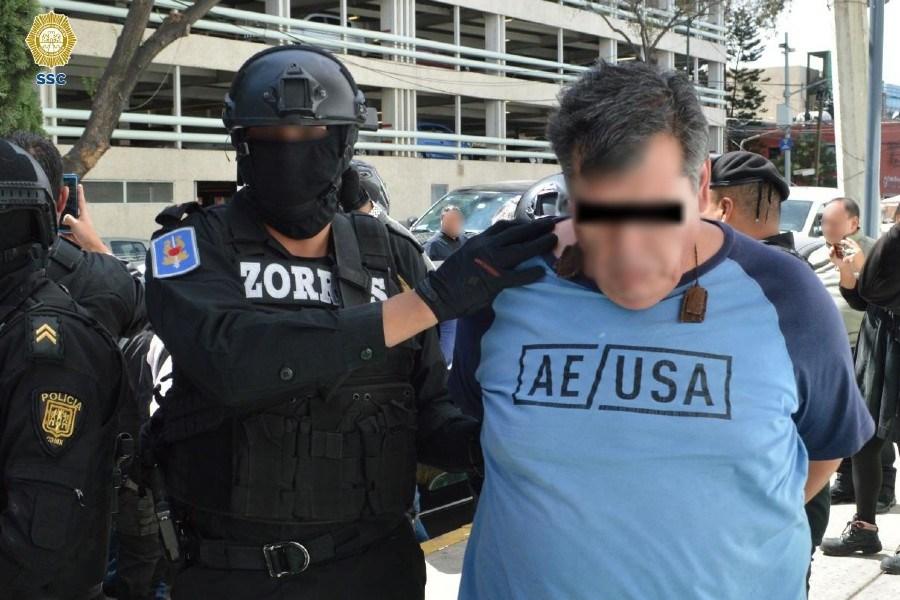 SSC detiene a tres presuntos ladrones con armas y una granada (FOTOS)