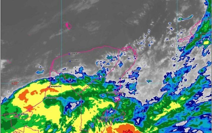 Clima Cancún, Playa del Carmen, Chetumal y Quintana Roo hoy 18 de Mayo 2020