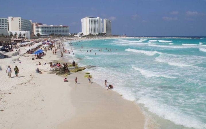 Cancún: Playas Limpias de Sargazo hoy 7 de febrero de 2020