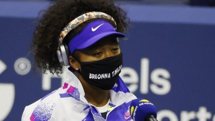 Naomi Osaka: el poderoso mensaje de las mascarillas de la tenista japonesa en el Abierto de EE.UU.