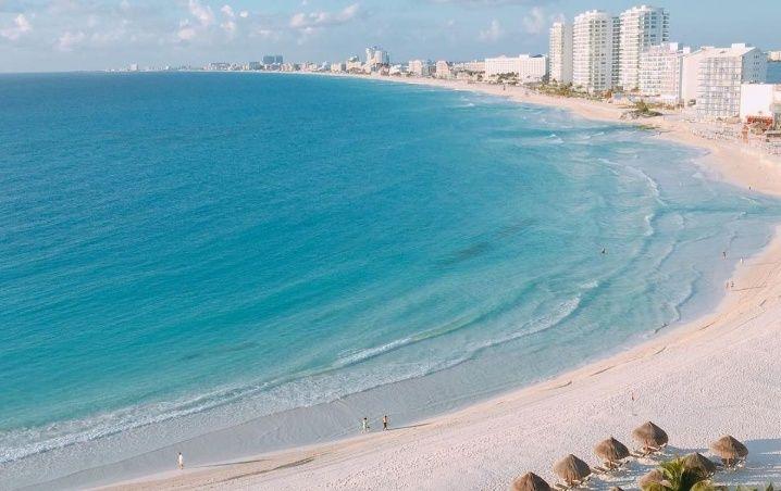 Cancún: Playas Limpias de Sargazo hoy 1 de junio de 2020