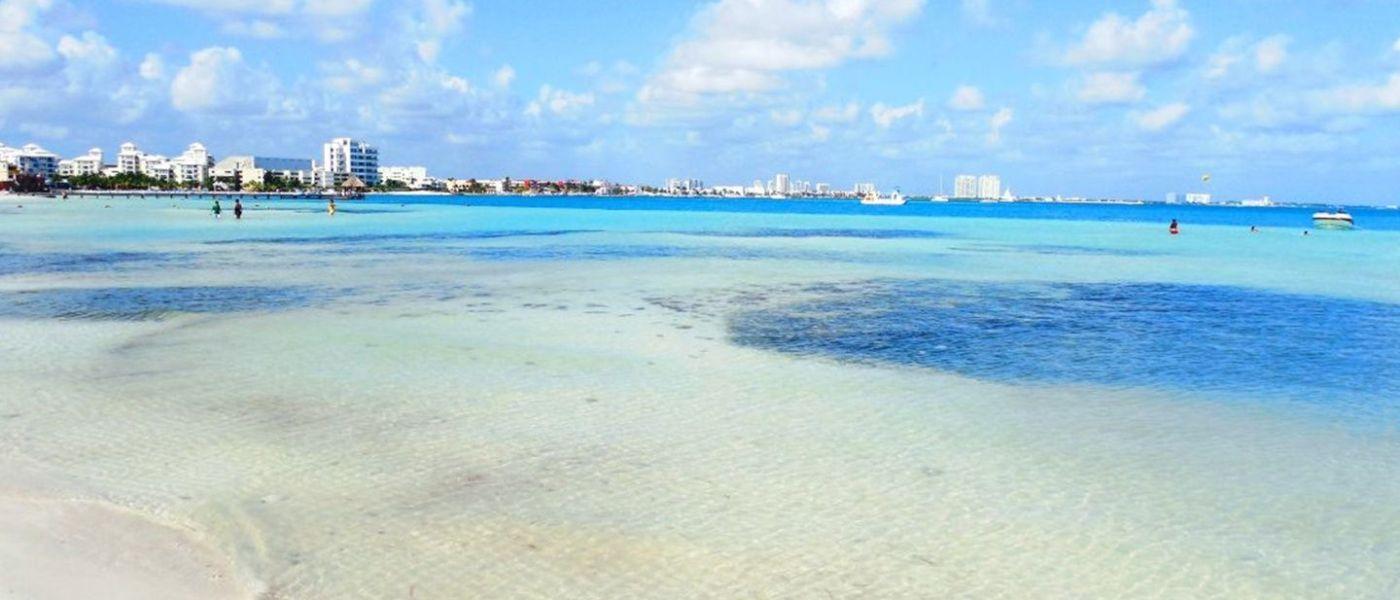 Cancún: Playas limpias de sargazo hoy 16 de enero de 2020