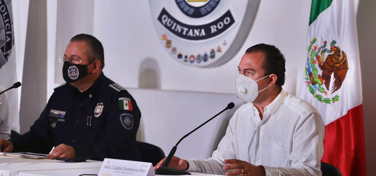 Supera Policía Quintana Roo récord de detenciones: Capella