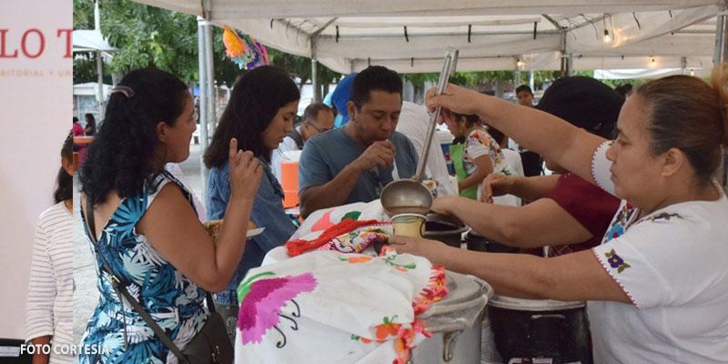 """Festejan en Cancún el """"Día de la Candelaria"""" con muestra gastronómica de tamales"""