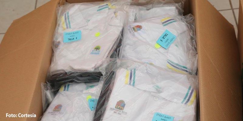 Alistan licitación para elaborar uniformes escolares