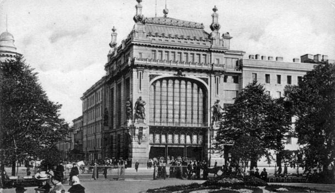 Елисеевский магазин в Петербурге