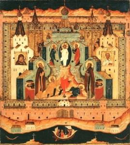 Преображение Господне, нач. XVII в.