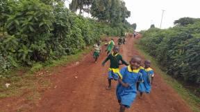 061 Kids chasing the motorbikes 2 - CP