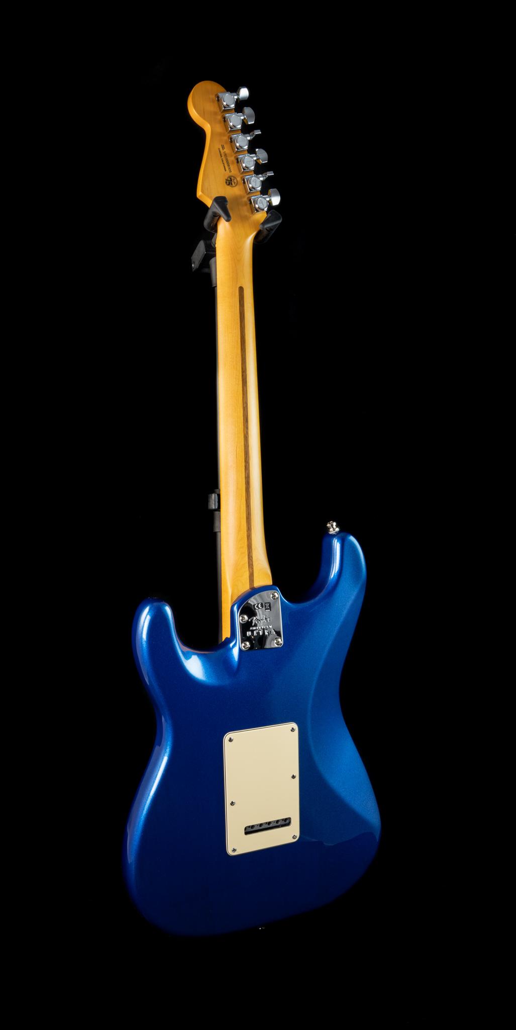Fender American Ultra Stratocaster in Cobra Blue, Pre-Owned