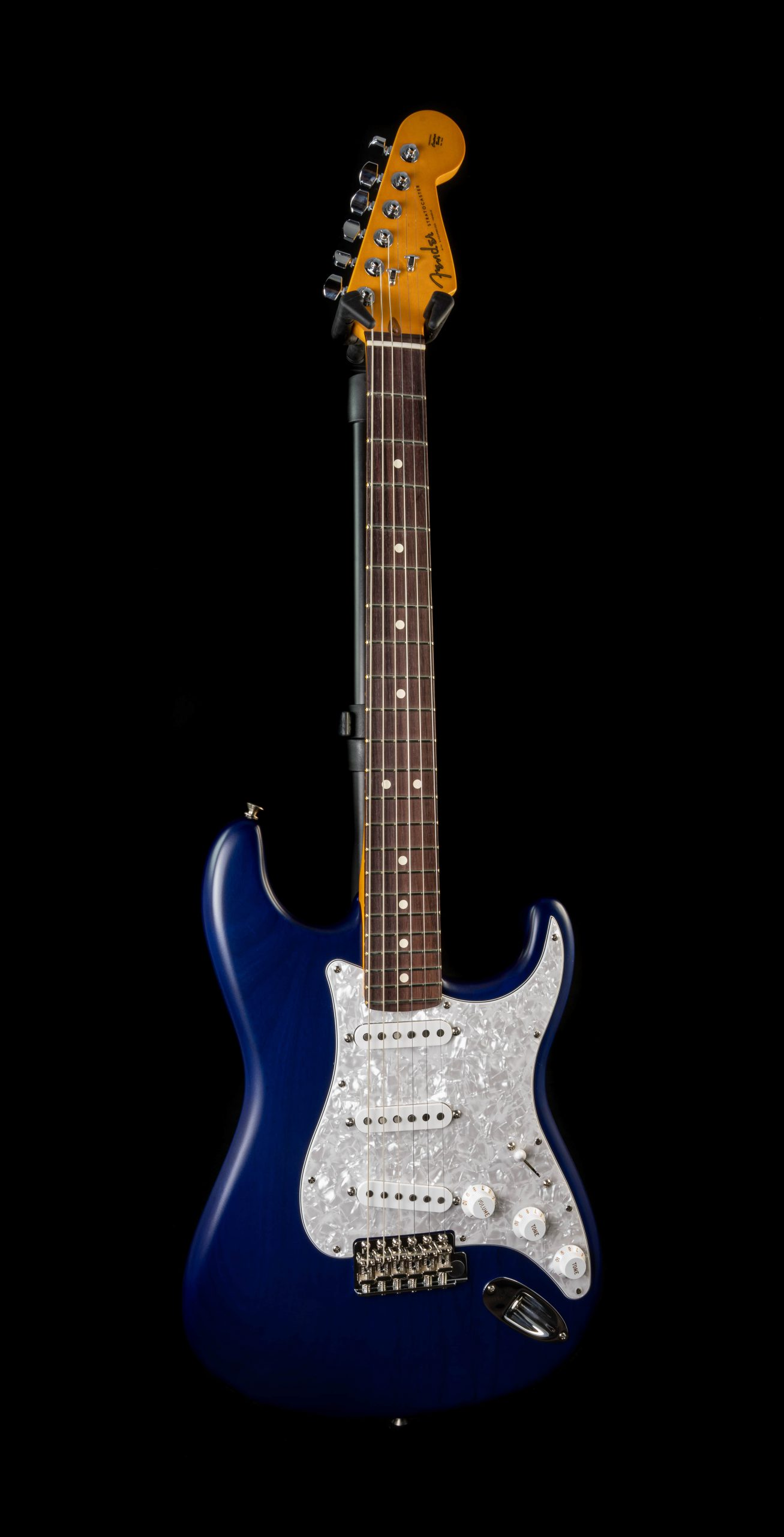 Fender Cory Wong Stratocaster in Sapphire Blue Transparent