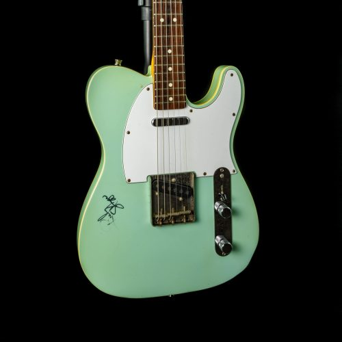Fernandes - 1990s - Double Bound T-Style in Surf Green - Signed by Ricky Skaggs