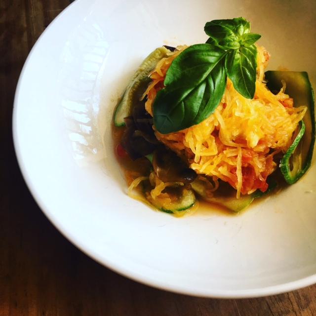 """Spaghetti squash: the ultimate """"gluten free pasta"""""""