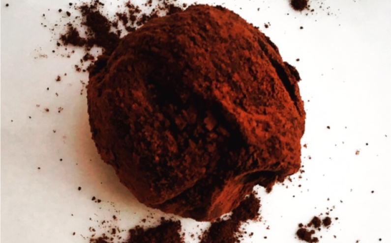 Salted chocolate truffles recipe