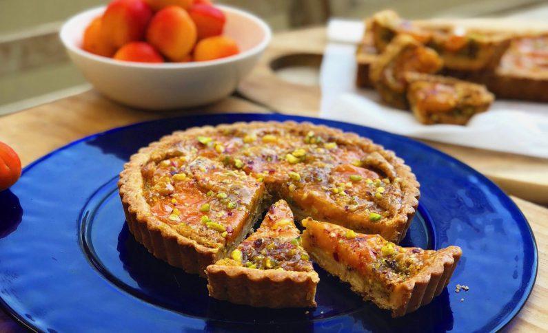 My Apricot Pistachio Tart Recipe