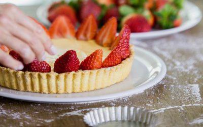 In My Kitchen: Fresh Strawberry Tart