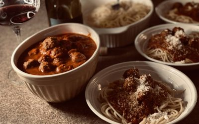 Kitchen Quarantine – Spaghetti & Meatballs