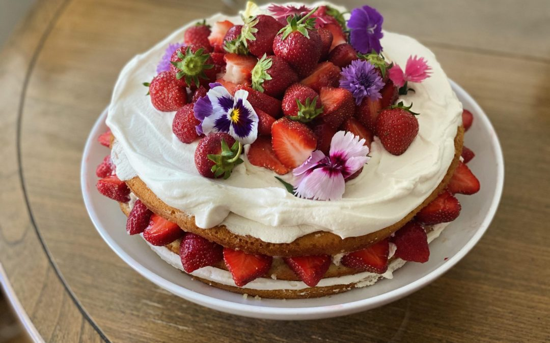 Creamy Dreamy Strawberry Shortcake