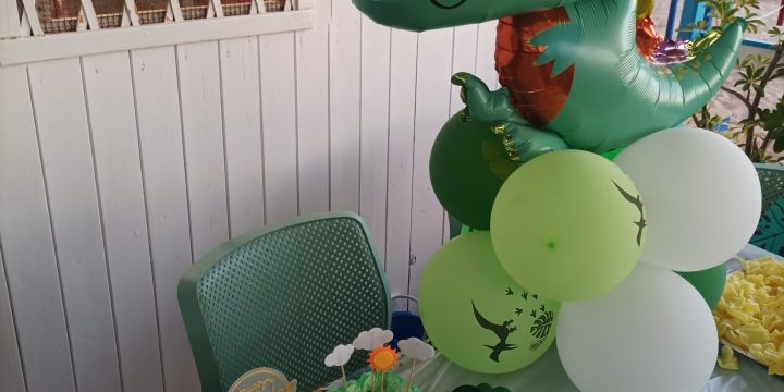 Buon compleanno al nostro piccolo Dinosauro