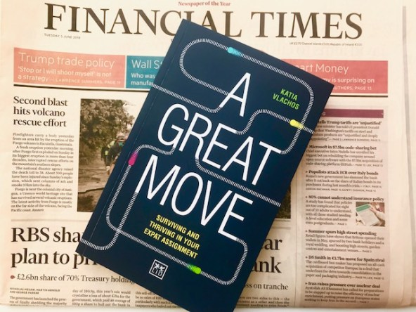 A Great Move by Katia Vlachos featured in The Financial Times - LID