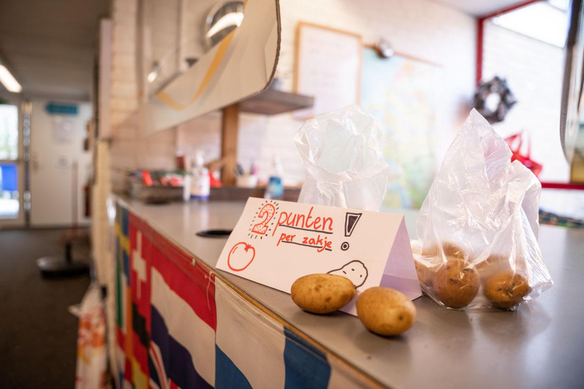 ruilwinkel aardappels fotografie