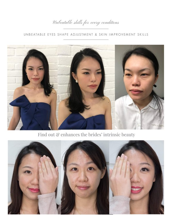 Above: Unbeatable eye shapes adjustment skill will be covered in the course. Below: Skin improvement and different types of eye adjustment method used on ...