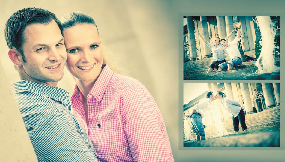 Engagement-Shooting Vintage in Aachen