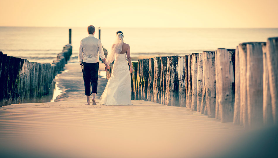 After-wedding-shooting am Meer