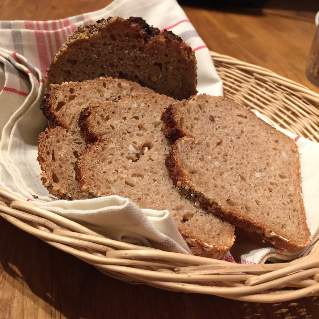 Brot mit chiasamen