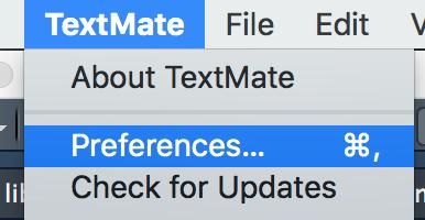Textmate setup (Mac only) | R-bloggers