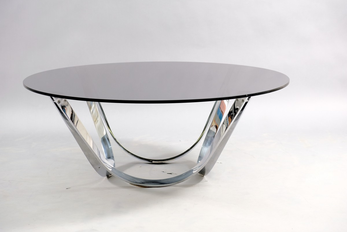 mid century coffee table by werner lindner for bacher 1960s