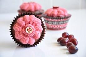 Cranberry-Schokoladen-Cupcakes