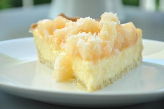 Kokos-Melonen-Cheesecake