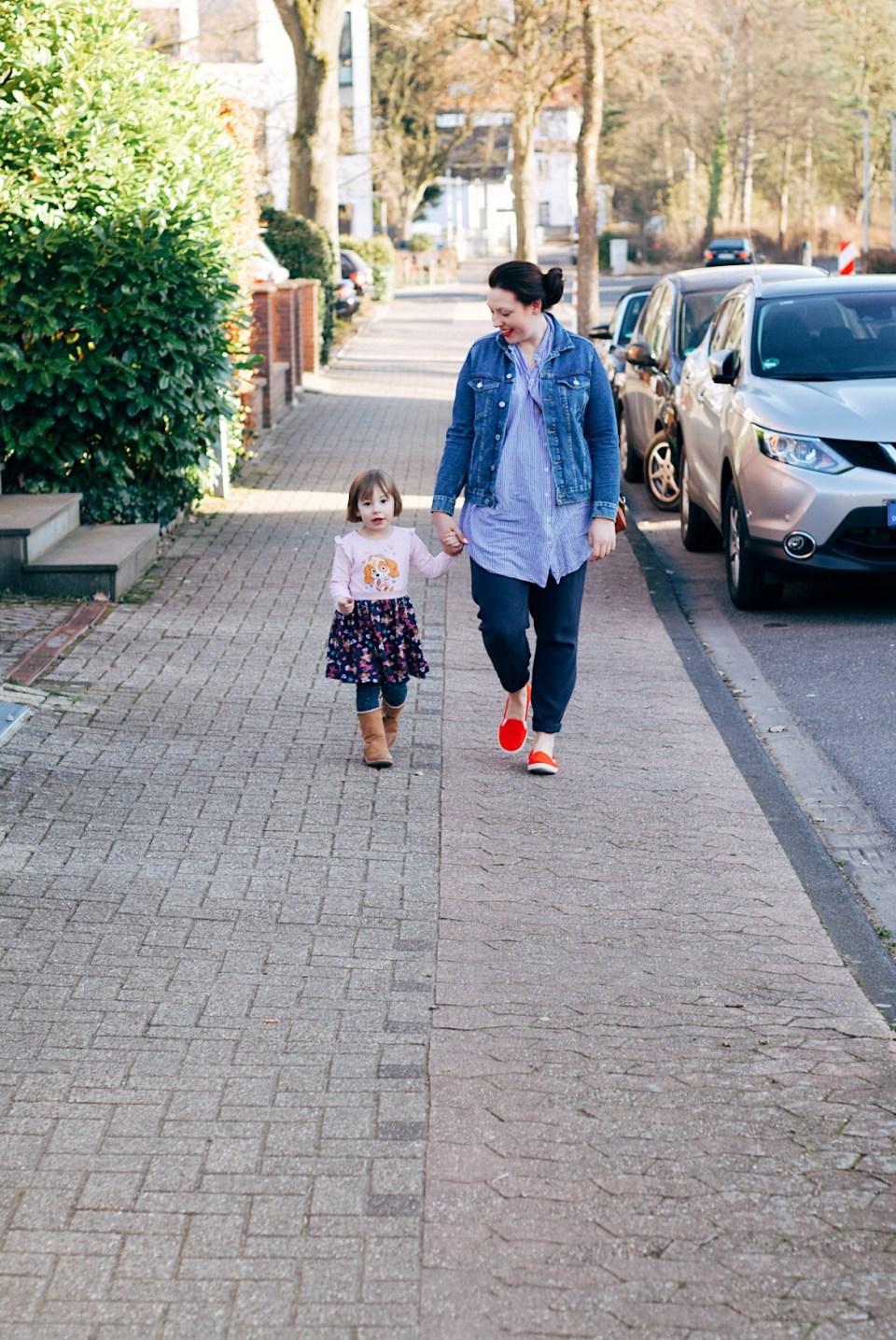 Februar mit Kind