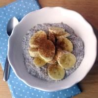 Chiasamen-Pudding mit Kokosmilch