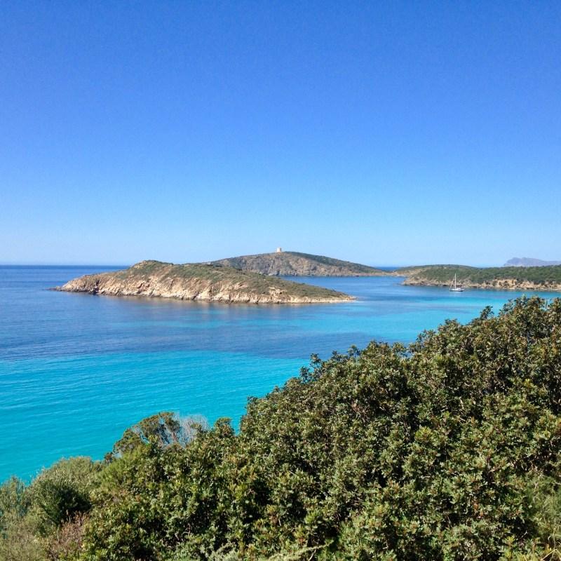 Türkisblaues Meer bei Tuerredda