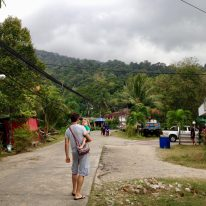 Main town on the other side on Tioman Island