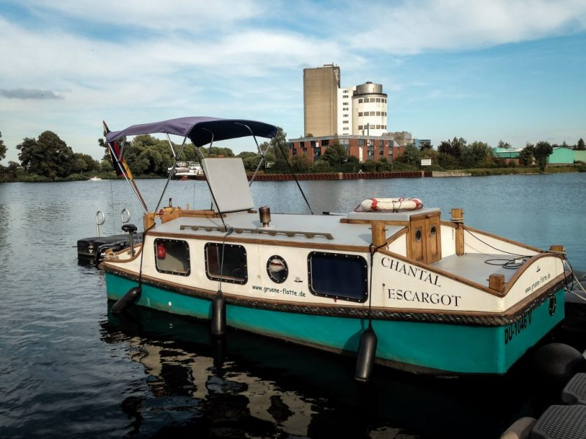 Unser Hausboot Escargot