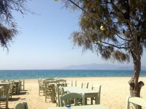 Taverne Paradiso am Plaka Beach