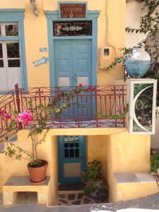 Kastro-Viertel Naxos