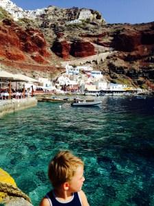 Ammoudi auf Santorini