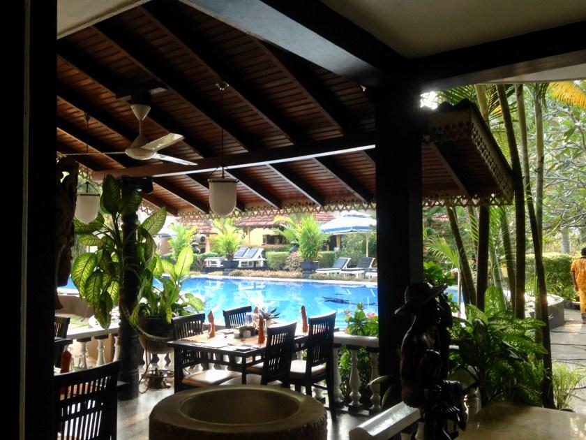 Restaurant Flower Garden Hotel Sri Lanka